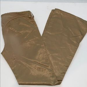 Diesel | Gold Satin Pants